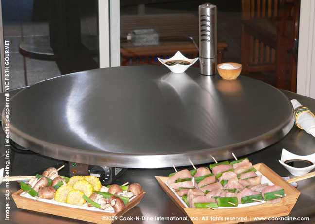 electric grill | indoor outdoor teppanyaki | portable